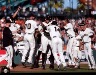 San Francisco Giants, S.F. Giants, photo, 2013, Hunter Pence, Team