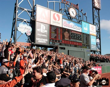 San Francisco Giants, S.F. Giants, photos, 2013, Fans