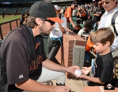 San Francisco Giants, S.F. Giants, photo, 2013, Fans, Barry Zito