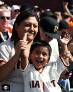 San Francisco Giants, S.F. Giants, photo, 2013, Fans,