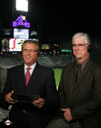 San Francisco Giants, S.F. Giants, photo, 2013, Duane Kuiper, Mike Krukow