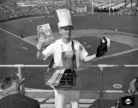 Opening Day at Candlestick Park - April 13, 1960