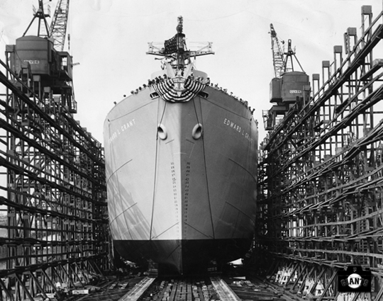 Launched at Baltimore June 12th, 1943.