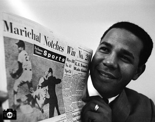 sf giants, win 20, september 5, 1965, juan marichal, photo