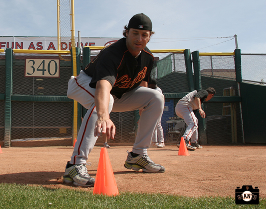 mike matheny, 2005, spring training, sf giants, photo