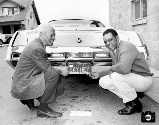 sf giants, photo, willie mays, february 3, 1971