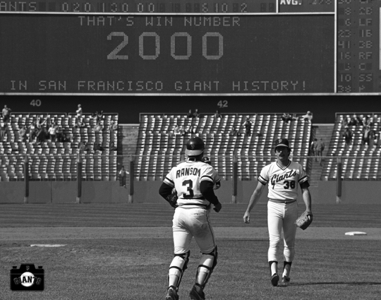 sf giants, photo, candlestick park,, greg minton, dave radar