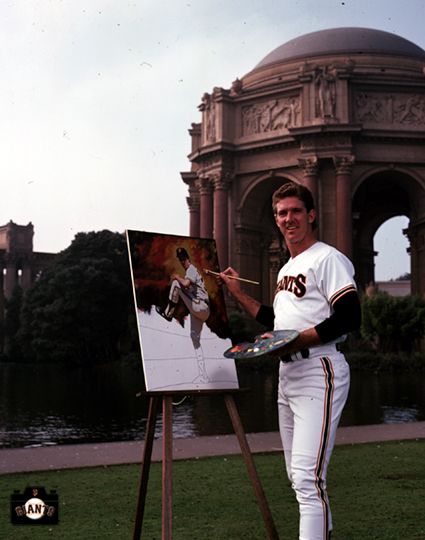mike krukow, sf giants, photo
