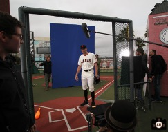 San Francisco Giants, S.F. Giants, photo, 2014, Hunter Pence