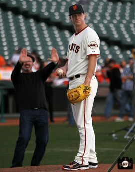 San Francisco Giants, S.F. Giants, 2014, photo, Matt Cain