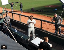 San Francisco Giants, S.F. Giants, 2014, photo, Michael Morse