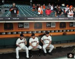 San Francisco Giants, S.F. Giants, 2014, photo, Jeremy Affeldt, Hunter Pence, Bruce Bochy