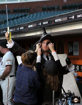 San Francisco Giants, S.F. Giants, 2014, photo, Hunter Pence