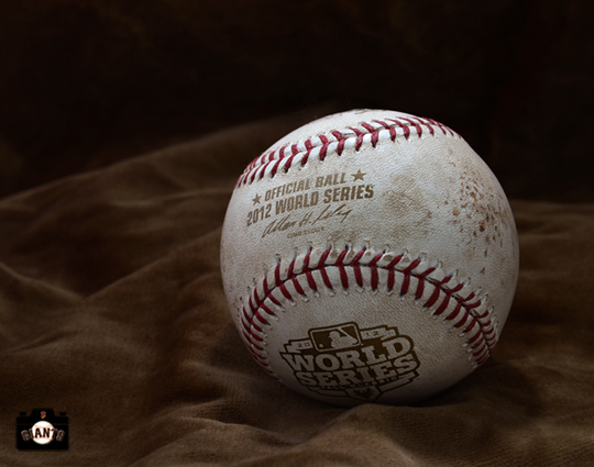 2010 world series, ball, sf giants