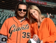 2014 SF Giants, photo, fan fest, at&T park, fans