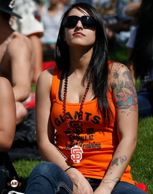 sf giants, 2014, spring training, fans,