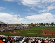2014 sf giants, photo, spring training, scottsdale stadium