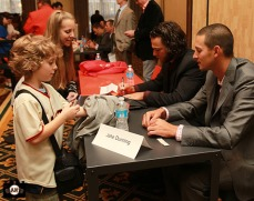 San Francisco Giants, S.F. Giants, photo, 2013, Giants Community Fund, Play Ball Lunch, Brandon Crawford, Jake Dunning