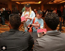 San Francisco Giants, S.F. Giants, photo, 2013, Giants Community Fund, Play Ball Lunch, Junior Giants
