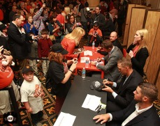San Francisco Giants, S.F. Giants, photo, 2013, Giants Community Fund, Play Ball Lunch, Hunter Pence, George Kontos