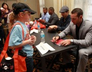 San Francisco Giants, S.F. Giants, photo, 2013, Giants Community Fund, Play Ball Lunch, Nick Noonan