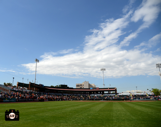 2014 sf giants, spring training, arizona, photo