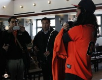 San Francisco Giants, S.F. Giants, 2014, photo, Orange Jersey