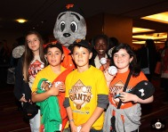 Lou Seal and Junior Giants