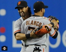 Angel Pagan & Gregor Blanco