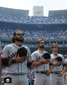 Brandon Crawford, David Huff & Matt Cain