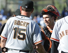 Bruce Bochy & Buster Posey
