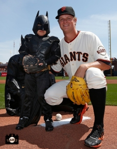 Bat Kid & Matt Cain