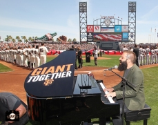 National Anthem was performed by Capital Cities
