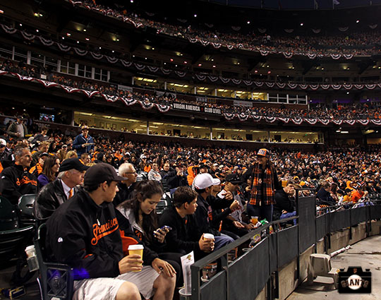 When it comes to supporting their team SF Giants fans are rumored to be the best in baseball.