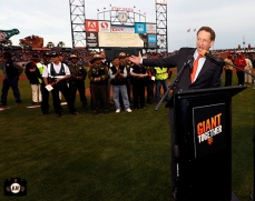 San Francisco Giants, S.F. Giants, photo, 2014, Larry Baer