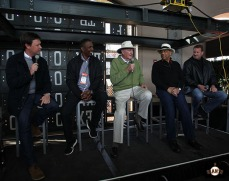 Dave Flemming, Keena Turner, Roger Craig, Orlando Cepeda and Brent Jones