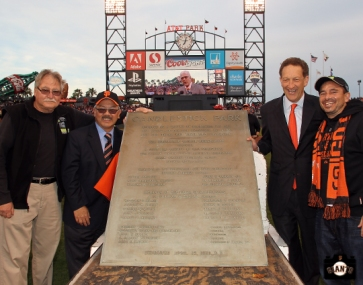 San Francisco Giants, S.F. Giants, photo, 2014, Ed Lee, Larry Baer