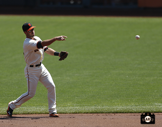 San Francisco Giants, S.F. Giants, photo, 2014, Brandon Hicks
