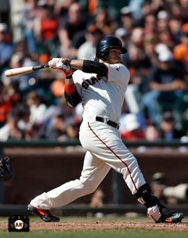 San Francisco Giants, S.F. Giants, photo, 2014, Brandon Crawford