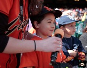San Francisco Giants, S.F. Giants, photo, 2014, Pony League Day
