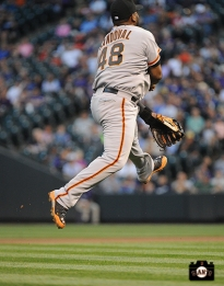 april 22, 2014, sf giants, coors field, photo