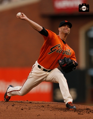 San Francisco Giants, S.F. Giants, photo, 2014, Tim Hudson