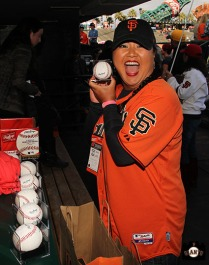 San Francisco Giants, S.F. Giants, photo, 2014, LPGA, Christina Kim
