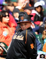 San Francisco Giants, S.F. Giants, photo, 2014, Little League Day,