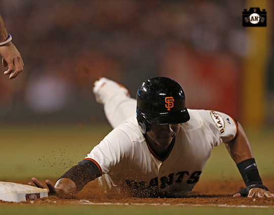 San Francisco Giants, S.F. Giants, photo, 2014, Ehire Adrianza