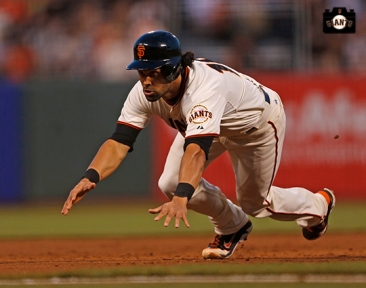 San Francisco Giants, S.F. Giants, photo, 2014, Angel Pagan
