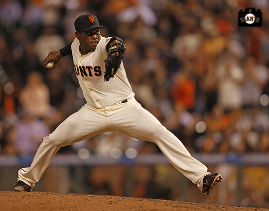 San Francisco Giants, S.F. Giants, photo, 2014, Santiago Casilla