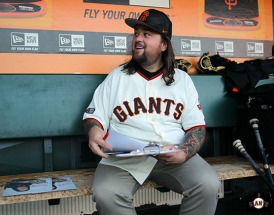 San Francisco Giants, S.F. Ginats, photo, 2014, Chumlee