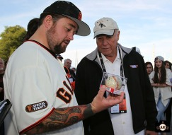 San Francisco Giants, S.F. Ginats, photo, 2014, Chumlee, Marty Lurie