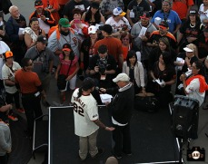 San Francisco Giants, S.F. Ginats, photo, 2014, Chumlee and Marty Lurie